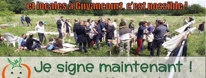500 signataires pour les cantines bio et locales à Guyancourt, c'est possible !