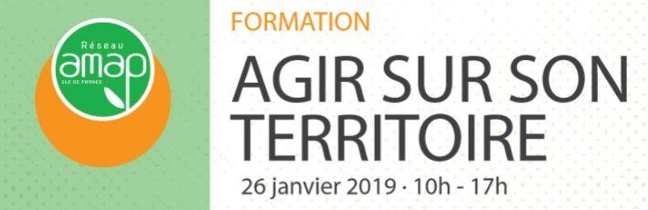 """Formation """"Agir sur son Territoire"""" à SQY le 26 janvier"""