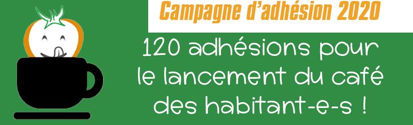 120 adhésions pour soutenir le lancement du café des habitant-e-s